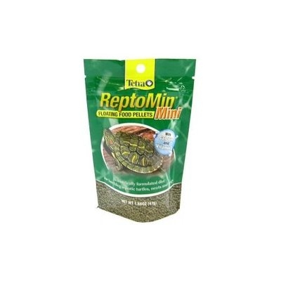 Tetrafauna ReptoMin Floating Food Pellets Mini: 1.66 oz