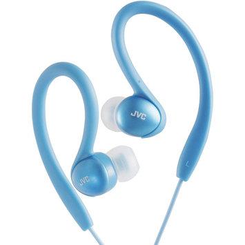 Victor Company Of Japan, Limited JVC Inner-Ear Sports Clip Headphones-Blue - HAEBX5AN