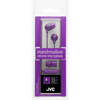 Jvc Hafr37w Marshmallow Inner Ear With Microphone & Remote [white]