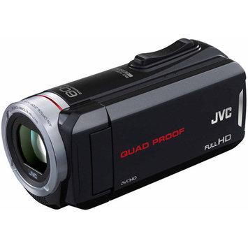 JVC Everio GZ-R30 Quad Proof Full 1080p HD Camcorder, 10MP, Internal 8GB Memory, 40x Optical/60x Dynamic Zoom, 3