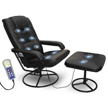 Comfort Products Leisure Recliner with 10-Motor Massage and