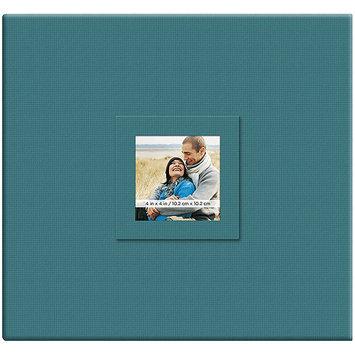 Mbi Earthtone Post Bound Scrapbook W/Window 12X12-Leaf