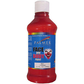 Palmer Face Paint 8 oz. red
