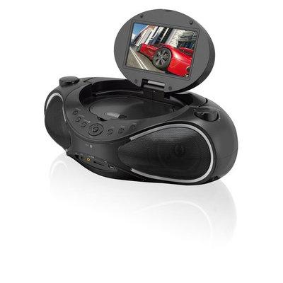 GPX IBD704B Ilive Blue Ibd704b Cd/dvd/radio Boom Box With Bluetooth[r]