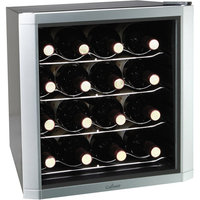Culinair AW162S Thermoelectric 16-Bottle Wine Cooler Silver/Black