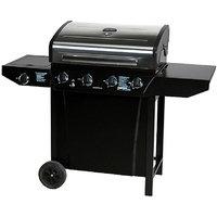 Thermos 4 Burner Gas Grill w/Side Burner