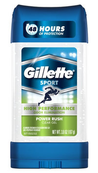 Gillette Clear Gel Power Rush Antiperspirant & Deodorant