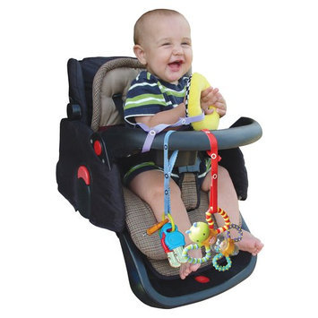 Baby Buddy Secure-A-Toy - Navy/Red - 1 ct.