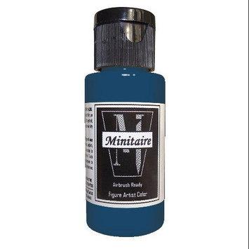 Badger Airbrush Company Badger Air-Brush Company, 2 Ounce Bottle Minitaire Airbrush Ready, Water Based Acrylic Paint, Royal BADD6150
