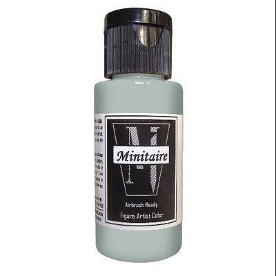 Badger Airbrush Company Badger Air-Brush Company, 2 Ounce Bottle Minitaire Airbrush Ready, Water Based Acrylic Paint, Base BADD6101