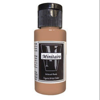 Badger Airbrush Company Badger Air-Brush Company, 2 Ounce Bottle Minitaire Airbrush Ready, Water Based Acrylic Paint, Mummy BADD6113