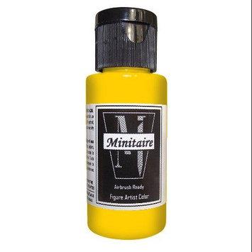 Badger Airbrush Company Badger Air-Brush Company, 2 Ounce Bottle Minitaire Airbrush Ready, Water Based Acrylic Paint, Jaund BADD6115