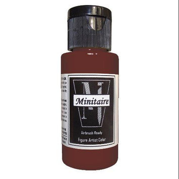 Badger Airbrush Company Badger Air-Brush Company, 2 Ounce Bottle Minitaire Airbrush Ready, Water Based Acrylic Paint, Blood BADD6143