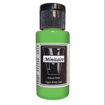 Badger Airbrush Company Badger Air-Brush Company, 2 Ounce Bottle Minitaire Airbrush Ready, Water Based Acrylic Paint, Borin BADD6153