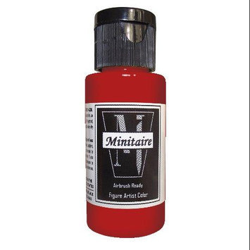 Badger Airbrush Company Badger Air-Brush Company, 2 Ounce Bottle Minitaire Airbrush Ready, Water Based Acrylic Paint, Brass BADD6167
