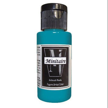 Badger Airbrush Company Badger Air-Brush Company, 2 Ounce Bottle Minitaire Airbrush Ready, Water Based Acrylic Paint, Ghost BADD6180