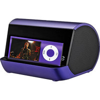 iHome iHM9U Portable MP3 Spkr Syst. Purple
