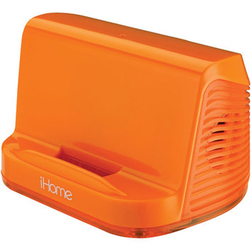 Sdi Techonlogies Inc. iHome iHM16EN Portable Universal Line-In Speakers - Neon Orange