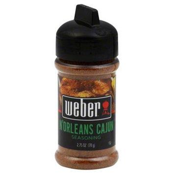 Weber Grill Seasoning Norleans Cajun, 2.75 oz, 6 pk