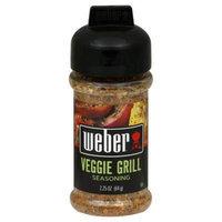 Weber Grill Seasoning Veggie Grill, 2.25 oz, 6 pk