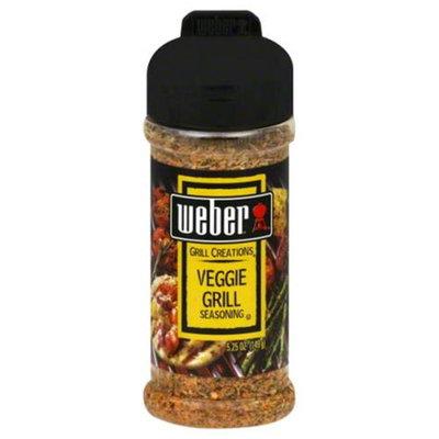 Weber Grill Seasoning Veggie Grill, 5.25 oz, 4 pk
