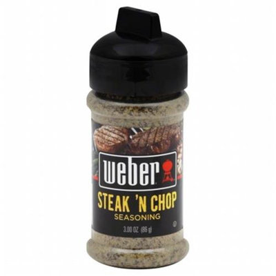 Weber Seasoning Steak N Chop 3 Oz Pack Of 6