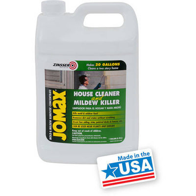 Zinsser 1-gal. Jomax House Cleaner and Mildew Killer (4-Pack) 60101
