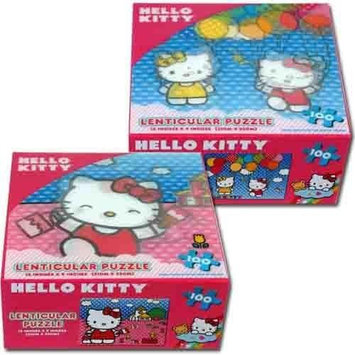 Hello Kitty 100 Pc Lenticular Puzzle 2