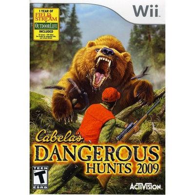 Activision Cabelas Dangerous Hunts 2009 - Action/Adventure Game - Wii