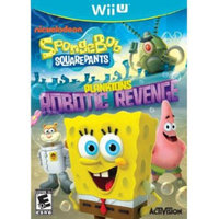 Activision Spongebob Squarepants: Planktons Robotic WII-U
