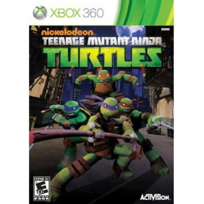 Activision Teenage Mutant Ninja Turtles Xbox 360