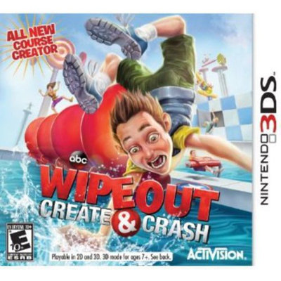 Activision Wipeout: Create & Crash - Action/Adventure Game - Nintendo 3DS