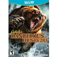Activision, Inc. Activision Cabela's Dangerous Hunts 2012 Wii U