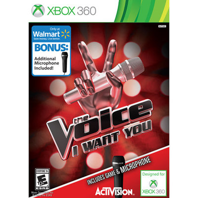 Activision 047875770508 77050 The Voice 2: I Want You with 2 Microphones Bundle - Xbox 360