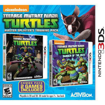 Activision Teenage Mutant Ninja Turtles: Master Splinter's Training Pack for Nintendo 3DS