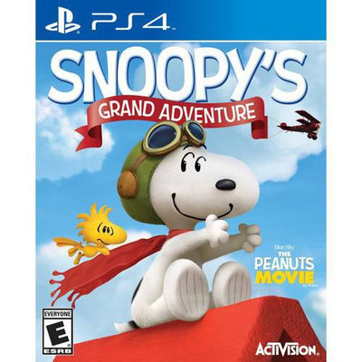 Activision Snoopy's Grand Adventure - Playstation 4