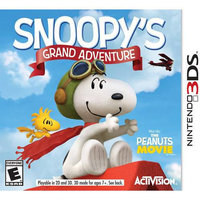 Activision Snoopy's Grand Adventure for Nintendo 3DS