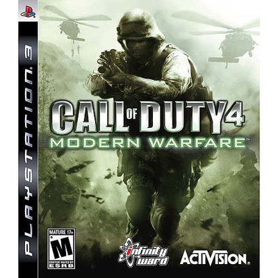 Activision 047875830813 Call of Duty 4: Modern Warfare for PlayStation 3