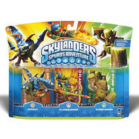 Activision, Inc. Skylanders Spyro's Adventure Adventure Pack [Drobot, Flameslinger, Stump Smash]