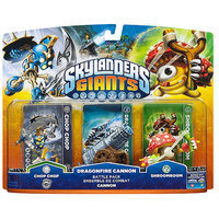 Activision Skylanders Giants - Battle Pack - Chop Chop, Shroomboom, Dragonfire Cannon