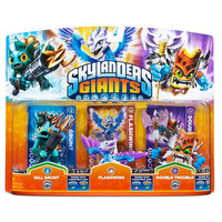 Activision Skylanders Giants Triple Character Pack - Gill Grunt - Flashwing - Double Trouble