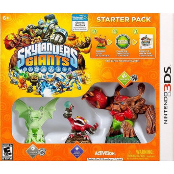 Skylanders Giants: (Glow In The Dark) Starter Kit (Walmart Exclusive) (Nintendo 3DS)
