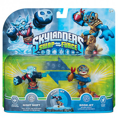 Activision Skylanders SWAP Force 2-Pack: Night Shift & Boom Jet