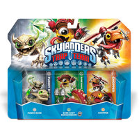 Activision, Inc. Skylanders Trap Team Triple Character Pack - Xbox One, Xbox 360, Ps4, Ps3, Nintendo Wii, Wii U, 3ds
