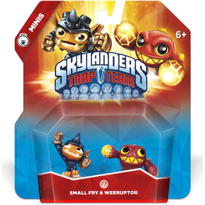 Rgc Redmond Skylanders Trap Team 2 Pack Mini Small Fy & Weeruptor Character Pack