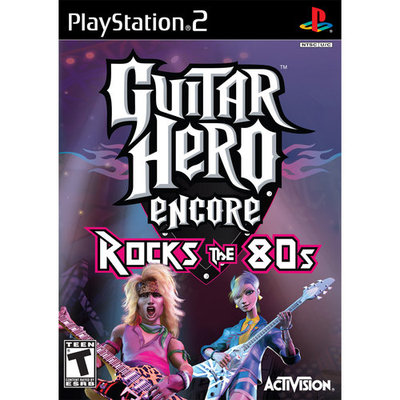 Activision GUITAR HERO ROCKS 80'S PS2 TRI
