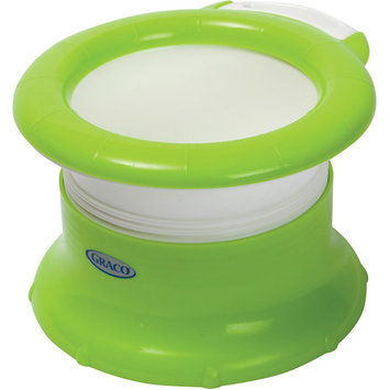 Graco Twisting Travel Potty, Green and Clear