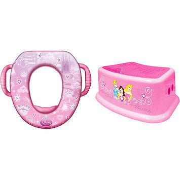 Disney - Princess Soft Potty and Step Stool