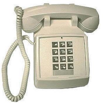 ITT 2500-V-BR 250045-VBA-20M DESK BROWN Phone
