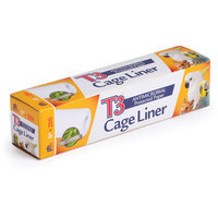 Prevue Pet Products T3 Antimicrobial Cage Liner, 18 in. x 25 ft.